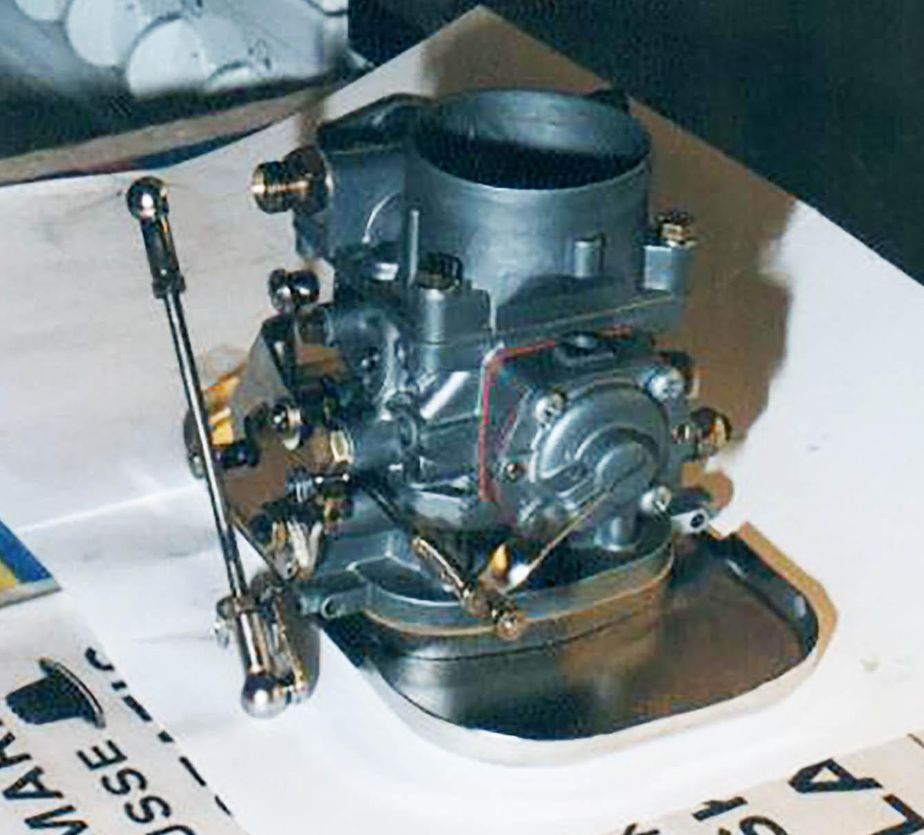 Mercedes-Benz 219 restoration > Carburetor
